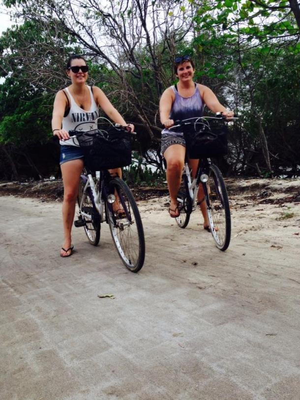 Bali- I road a bicycle around an entire island