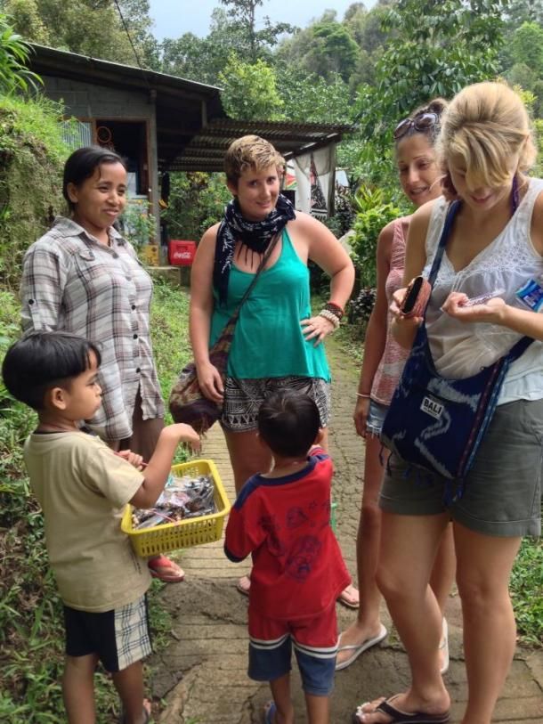 Bali- I haggled with a small child