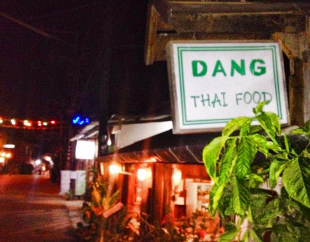 Thailand- there was some dang Thai food