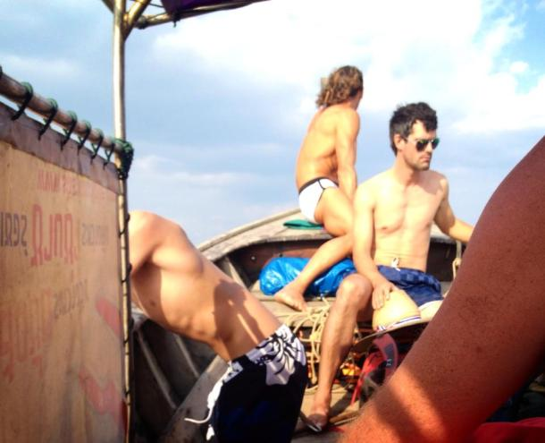 Thailand- I hung out with a man who possible models for romance novel covers