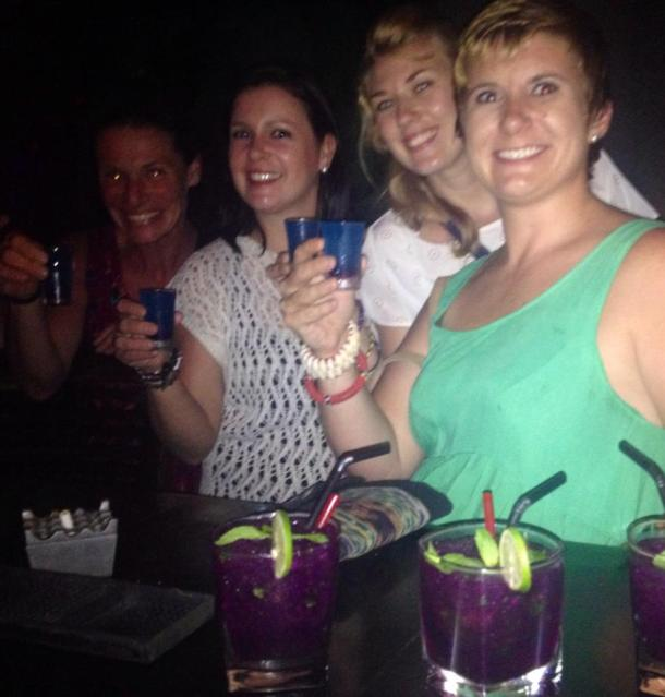 A South African, a Swiss-alian, an Englishman, and an American walk into a bar....