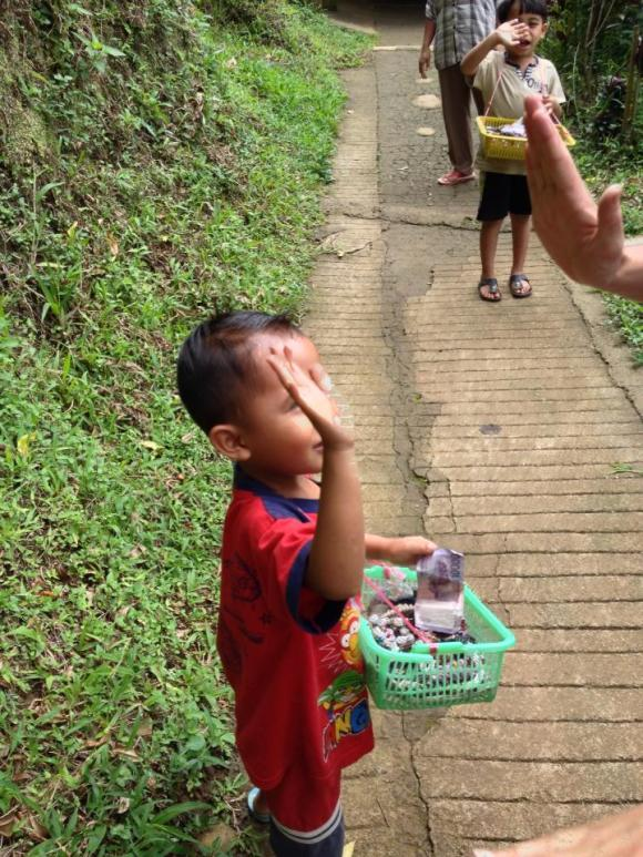 Bali- I gave the boy I haggled with a high five