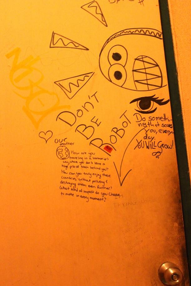 Thailand- bathroom doors were wise