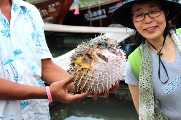 Thailand- a Chinese tourist were stupid