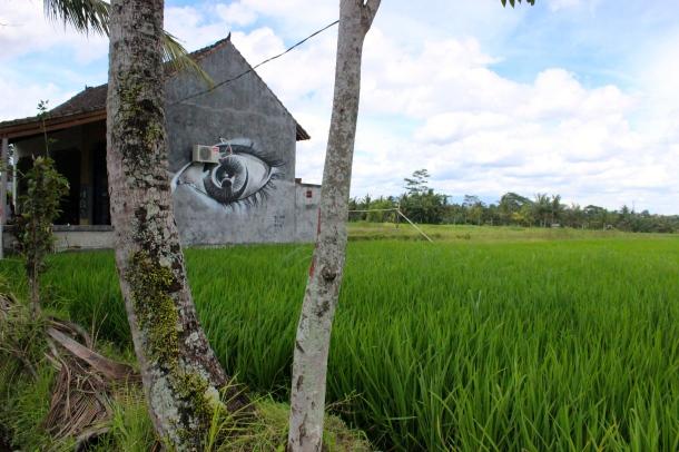 Bali- A building watching me