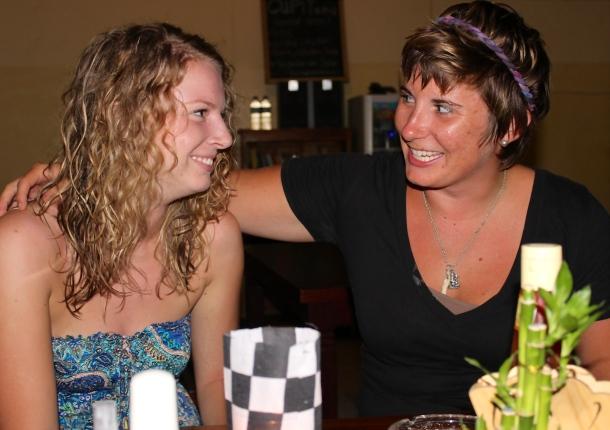 Bali- I met another American