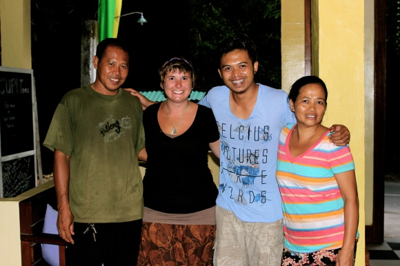 Bali- These people became my family