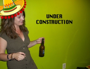 Sombrero, Funny, Lime Green, Beer, Dance